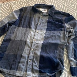 Urban pipeline flannel shirt